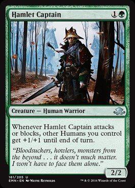 Magic: the Gathering - Hamlet Captain (161/205) - Eldritch Moon - Foil