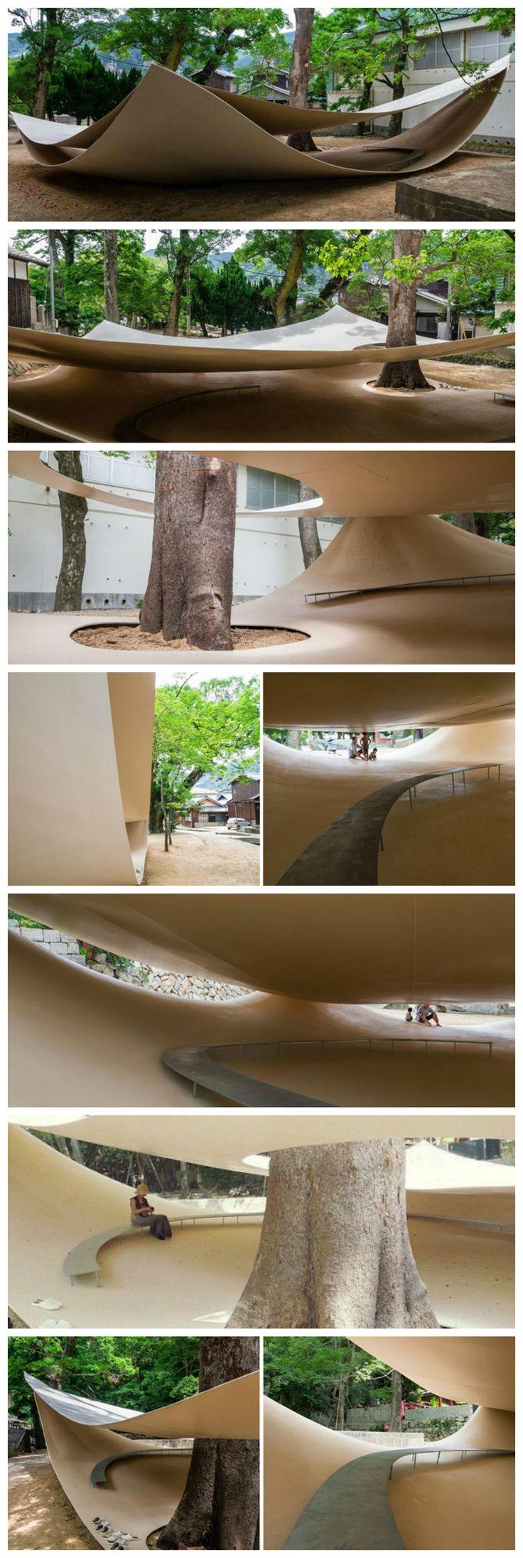 Fukita Pavilion | Kagawa, Japan • Ryue Nishizawa