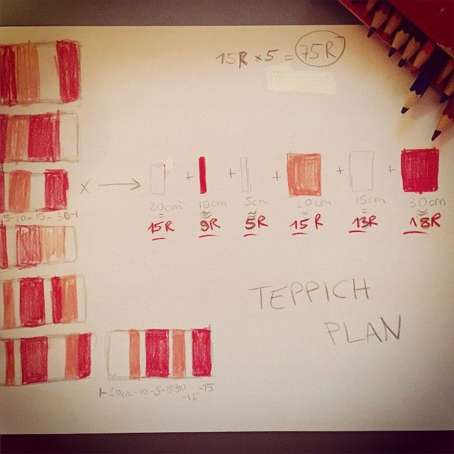 Make of: Teppich Plan, Ideen-Wolke #teppich #knitters #stricken #textilgarn #knittershandmade #wohnaccessoire #strickplan #drawing #colouring #draw #skizze #knitting #handmade