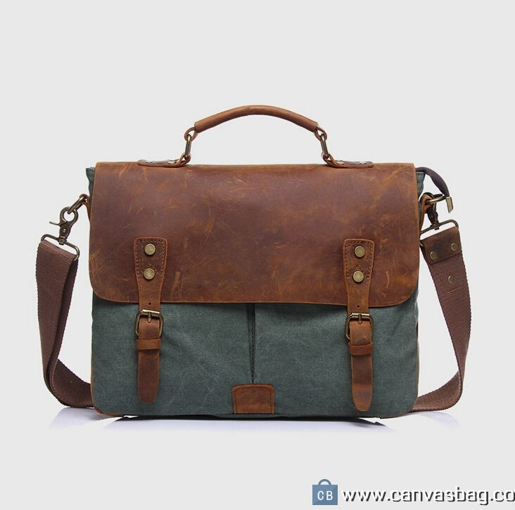 Canvas Messenger Bag Laptop Bags Computer Bags