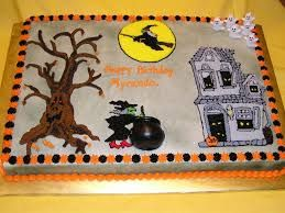 Image result for halloween sheet cakes ideas