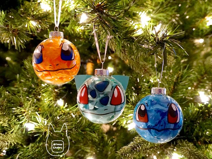 Make Your Own Pokemon Ornament
