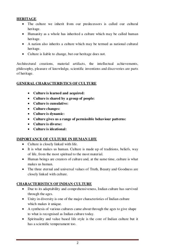 Culture Note For Main From Ccrt India Helpful Ia Aspirant Heritage Essay On Indian And Tradition
