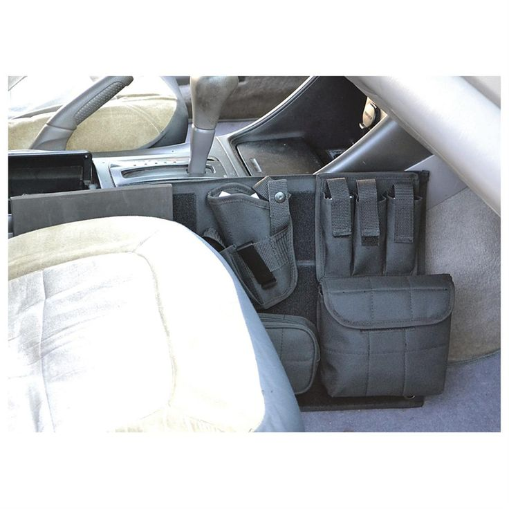 Explorer Tactical® Car Holster; Fully adjustable components