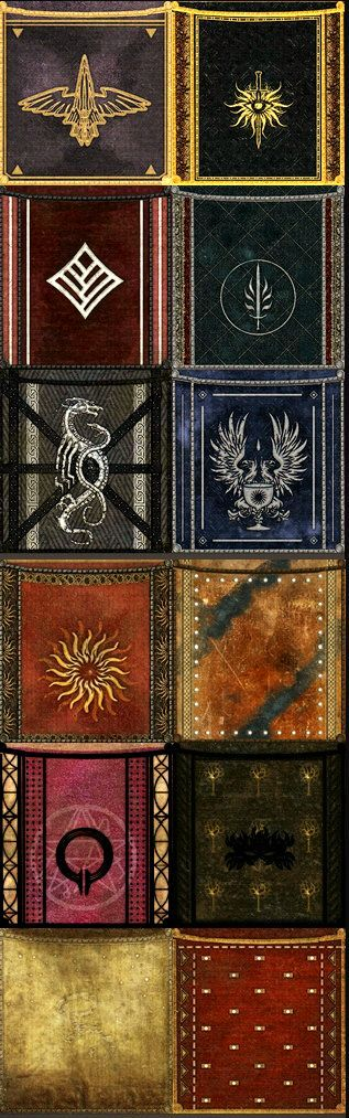 Dragon Age: Inquisition file extracts - Banners