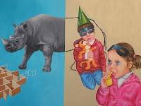 Paula Dias painting