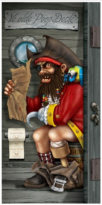Pirate Party Door Cover | Party Decorations | Buccaneer Party Supplies | Australia Wide Delivery