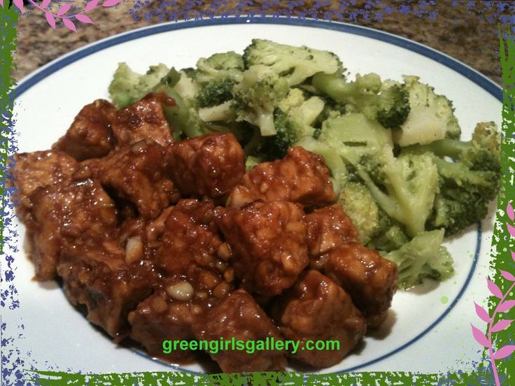 General Tso's Tempeh (17 Day Diet, Cycle 1) @ greengirlsgallery - the sauce is killer and can be used with toasted tofu or seitan