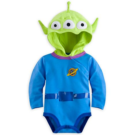 toy story alien bodysuit costume set for baby personalizable - Toy Story Alien Halloween Costume