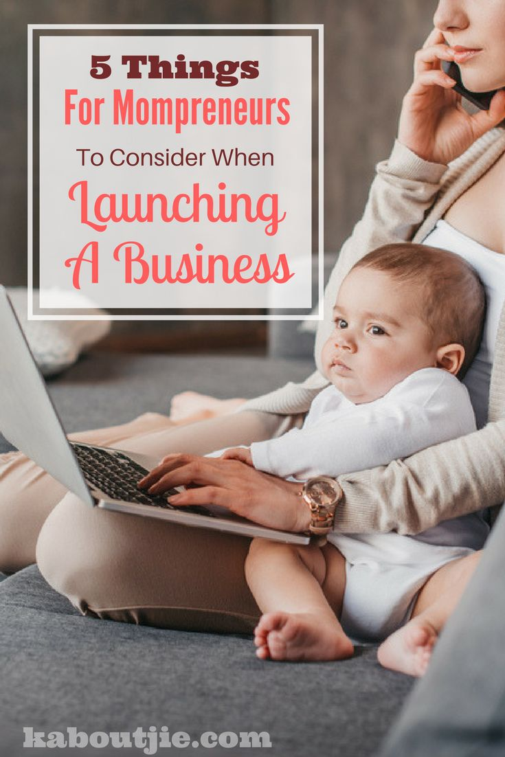 5 Things for mompreneurs to consider when launching a business    Are you wanting to startup your own mompreneur business? Yes it is exciting and lots of fun, but it is also important to implement some planning and foresight.     Here are some things to consider before launching your mompreneur business.    #mompreneur #mompreneurbusiness #workingmom #businesswoman #businesslaunch #businessplan  #mompreneurs #momblogger #momlife #mompreneurlife #mompreneurship #mompreneurbuzz #mompreneurbiz