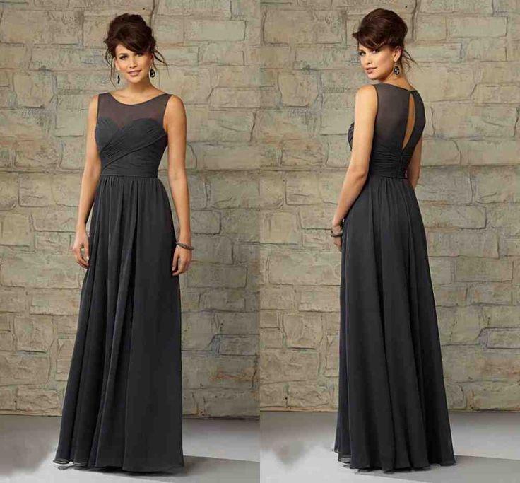 35 best grey bridesmaid dresses images on Pinterest   Grey ...