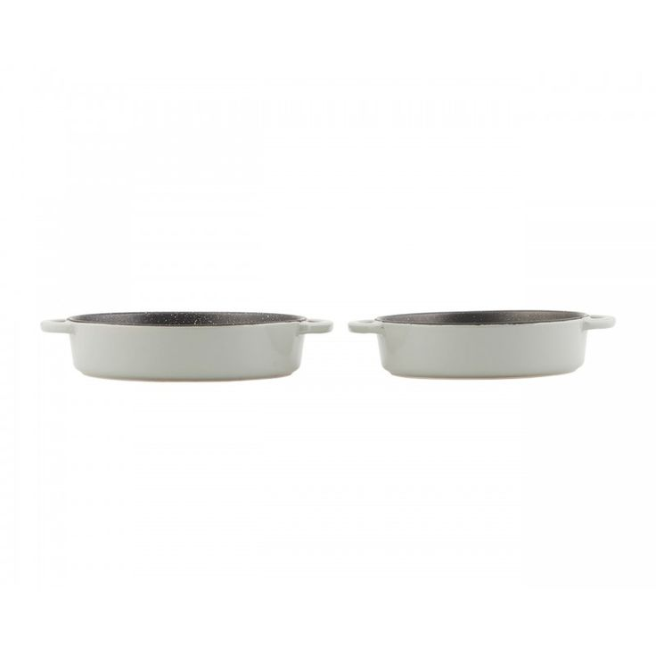 Ovenproof Dishes Round - Set of 2