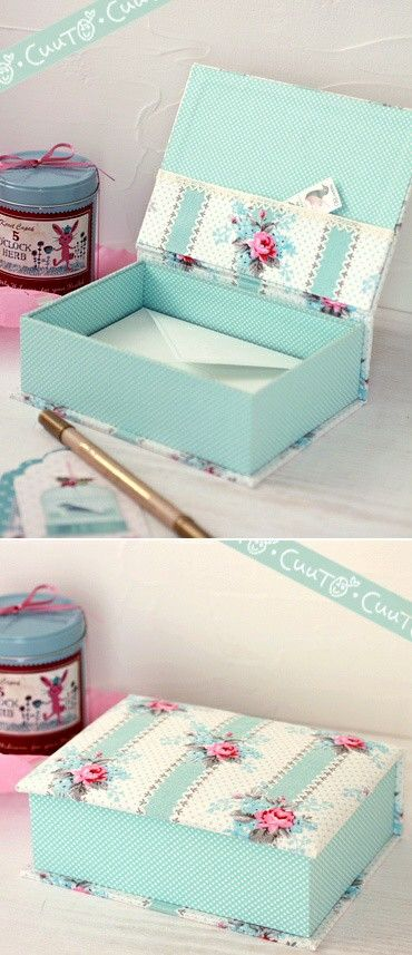 Love this and how it's being used.  What an awesome place to tuck your envelopes and stamps.  Plus since they are in one place, that is super cute, they will be at hand when you need them.  Make a box for business sized envelopes as well card sized ones.  If you hand write letters, it would be great to have another sized to fit your stationary.