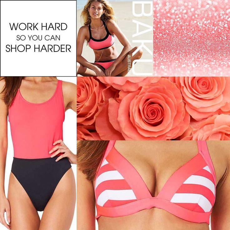 Corals are our fave this Summer and now one does it better than @bakuswimwear this season shop the full range @zodeeaustralia  #baku #mondays #coral #trends #colour #summer #swimwear #bright #fun #bakuaustralia #bakuswim #corals #stripes #coloueblocking #prints #swim #new #bikini #onepiece #zodee #weloveswimwear #summeriscoming