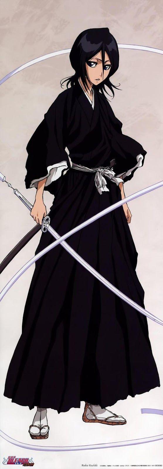 Indo além da caixinha: Rukia Kuchiki