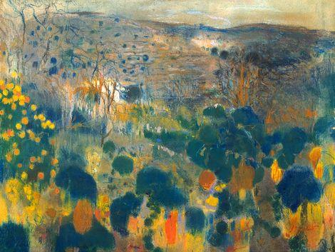 Joaquim Mir, Landscape (Around 1900-1903)