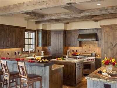 Western kitchen country and home decor pinterest for Western kitchen cabinets