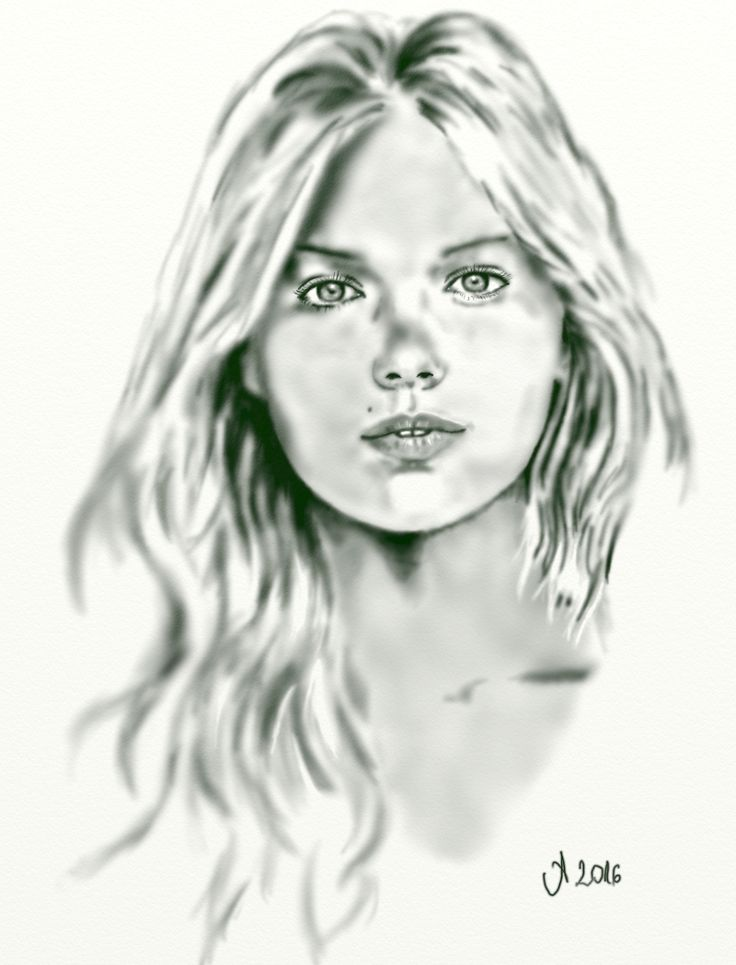 Kate Upton (méregzöld ceruza) 2016