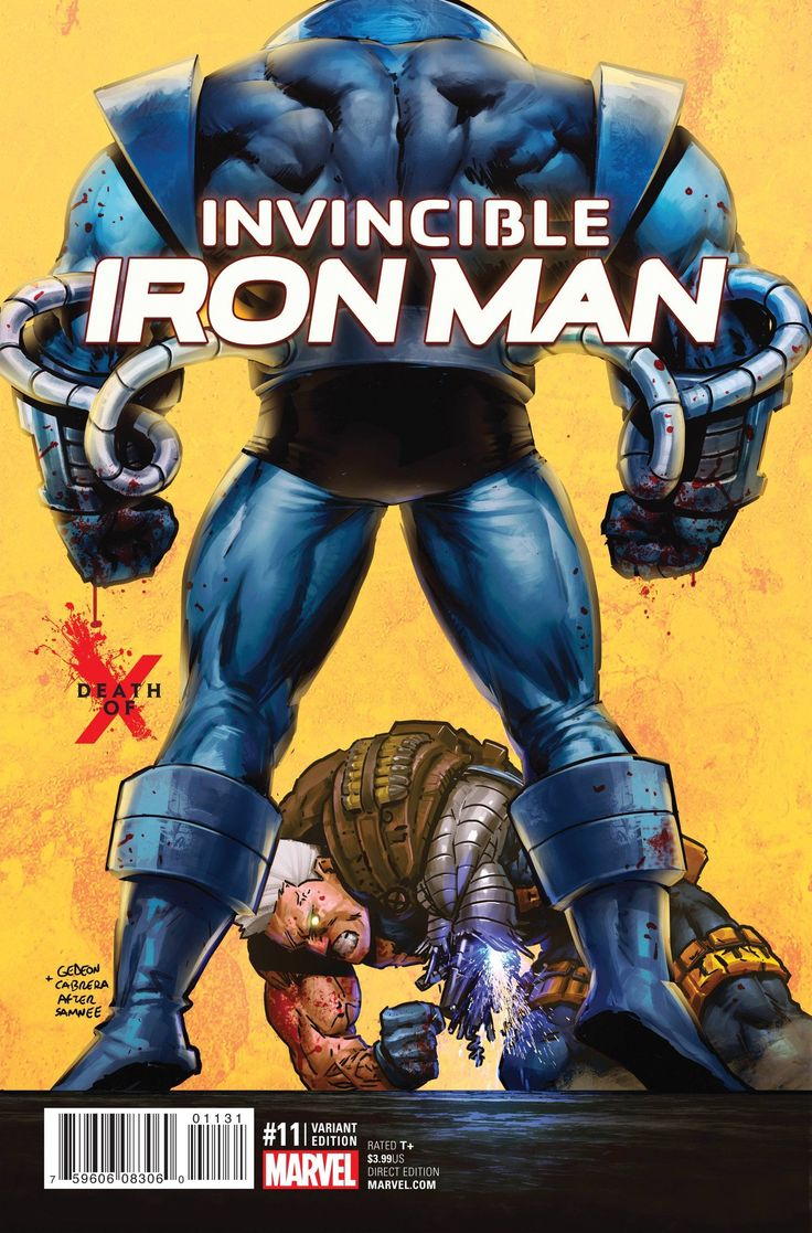 Invincible Iron Man #11 Death of X Variant