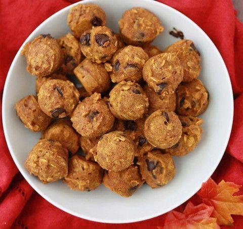 Gluten Free Pumpkin Chocolate Chip Muffins // One Lovely Lfie