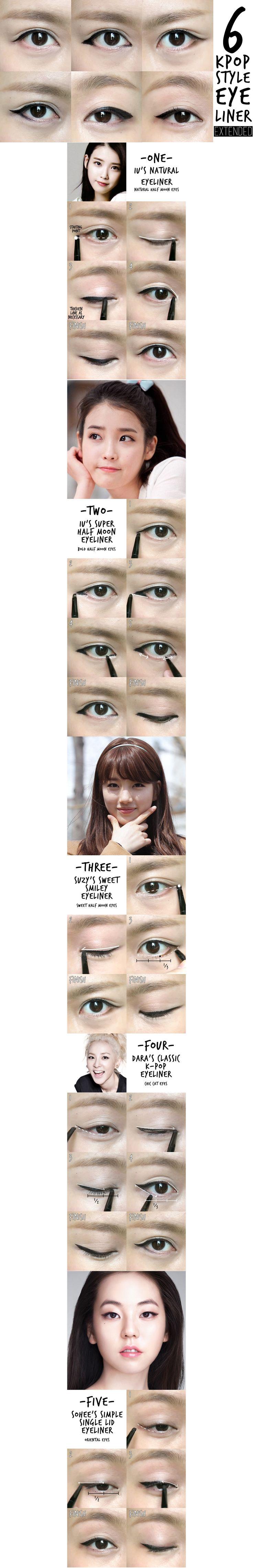 Best tutorial 6 k pop eyeliner http://amzn.to/2tGUGWx