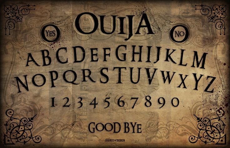 Ouija Board Gravedigger by Impale Design