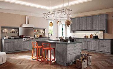 Кухня с островом Lucy в салоне итальянской и испанской мебели Алькасар