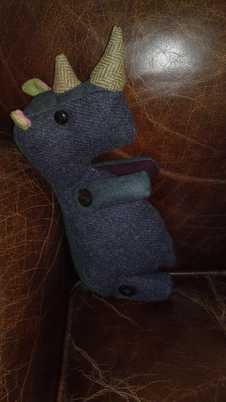 Rhino toy I designed and made myself