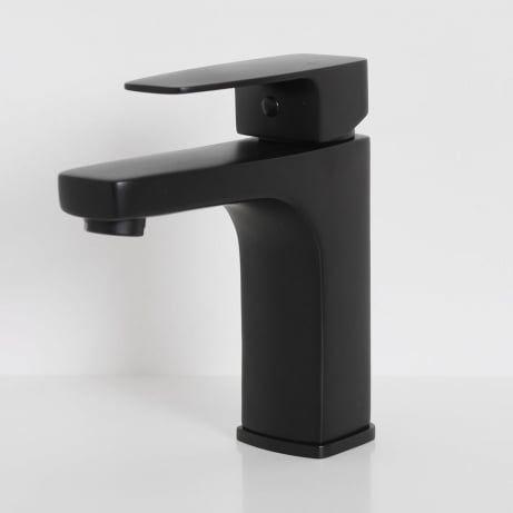 Lusso Noir Mia Series Basin Mixer Tap Matt black