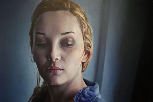 the blue room by ali özer, via Behance