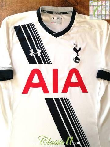 bb9bf10b Official Under Armour Tottenham Hotspur home football shirt from the 2015/ 2016 season.