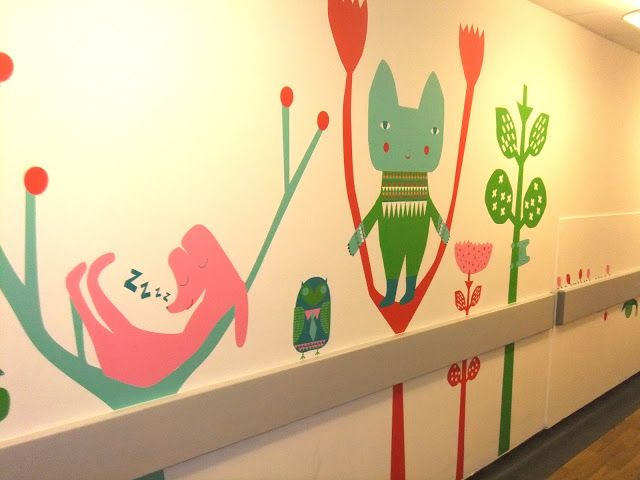 Leaves and Twigs: Friendly Forest for St Georges Hospital Children's Emergency Department.