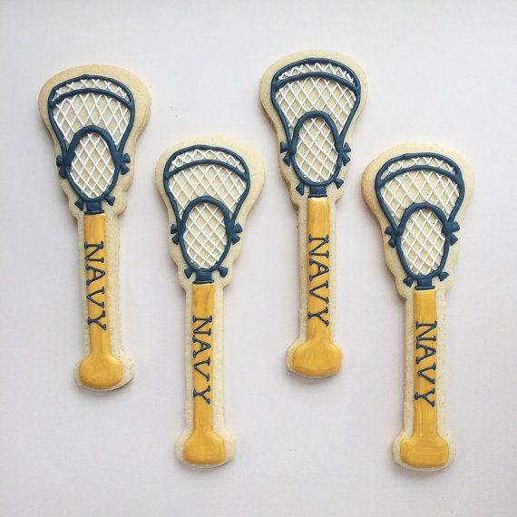 LACROSSE Stick Sugar Cookies
