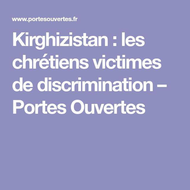 Kirghizistan : les chrétiens victimes de discrimination – Portes Ouvertes