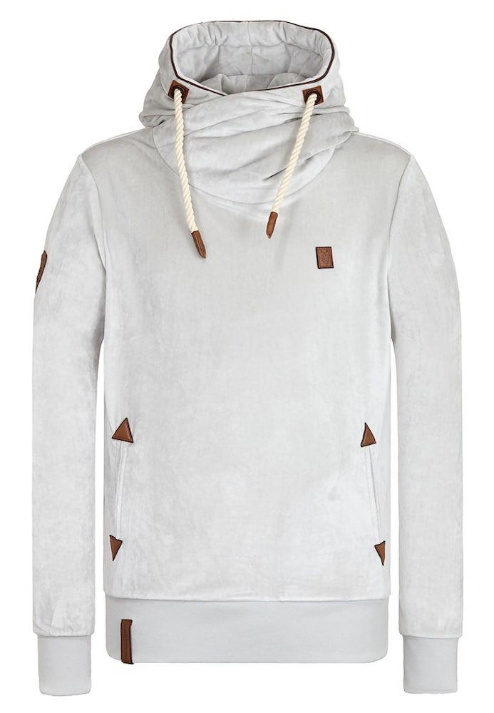 Naketano Hoody Schwanzus Longus Mack Iii Herren Hellgrau Grosse Sweatshirt Herrin Wolle Kaufen