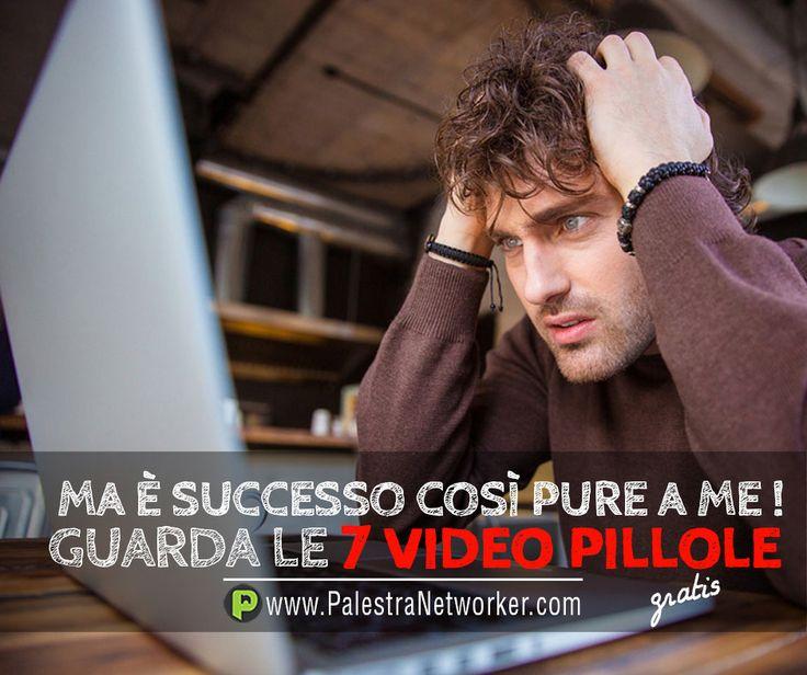 E' SUCCESSO ANCHE A TE? 7 Video Pillole sul Network Marketing (GRATIS) GUARDA => http://www.palestranetworker.com . .  #networker #networkers #networkmarketing #palestranetworker