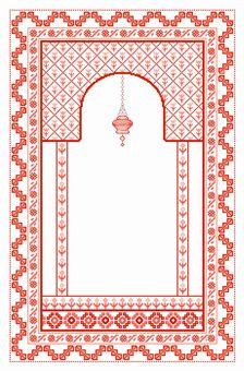 Design from my Prayer rugs book.