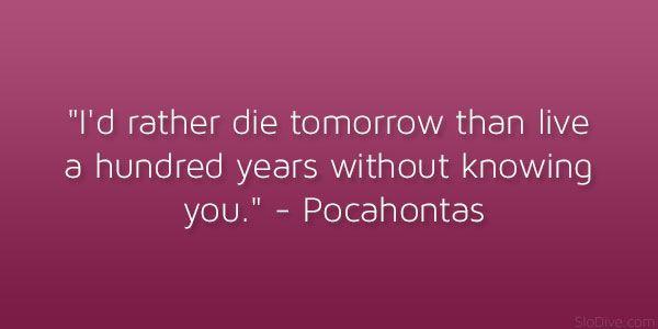 Pocahontas Quotes. QuotesGram