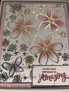 Embossed & Painted Flowers            Good Morning Everyone,     Today I will be showcasing the above card. I have  really enjoyed mak...