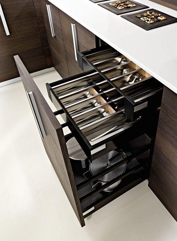 MAGIKA, Kitchen Storage Design by Pedini