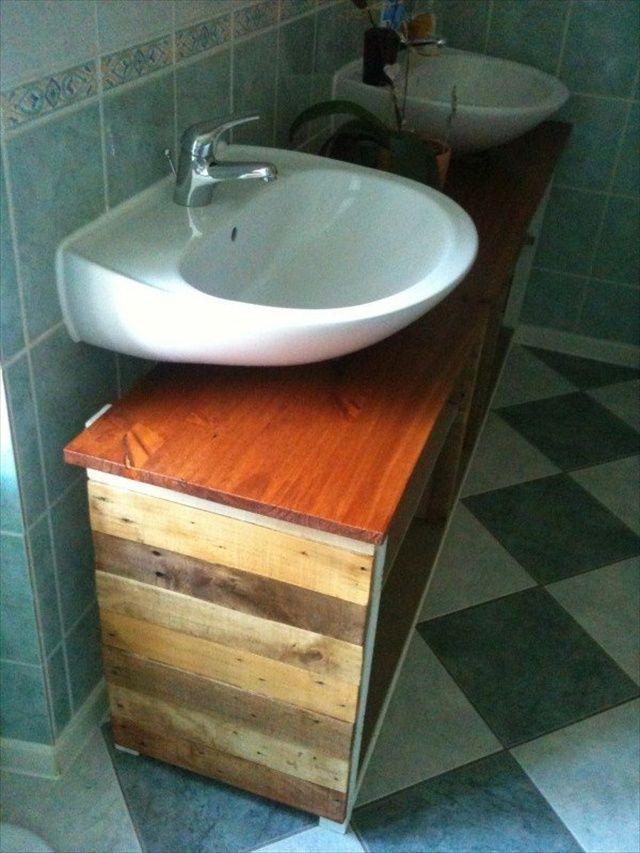 New Pallet Bathroom Furniture  Httpdunwayinfopalletsindexhtml