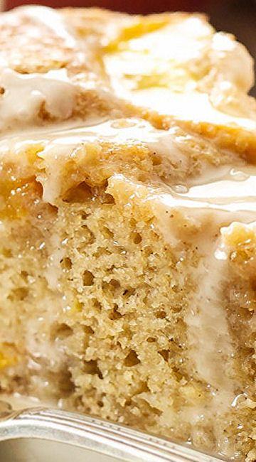 ... Peach Desserts ༻ on Pinterest | Peach cake, Fresh peach cobbler and