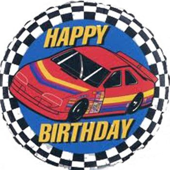 Give any racing car fan a birthday surprise with this awesome foil balloon! We add a gorgeous curling ribbon to make a special addition to a table in a restaura