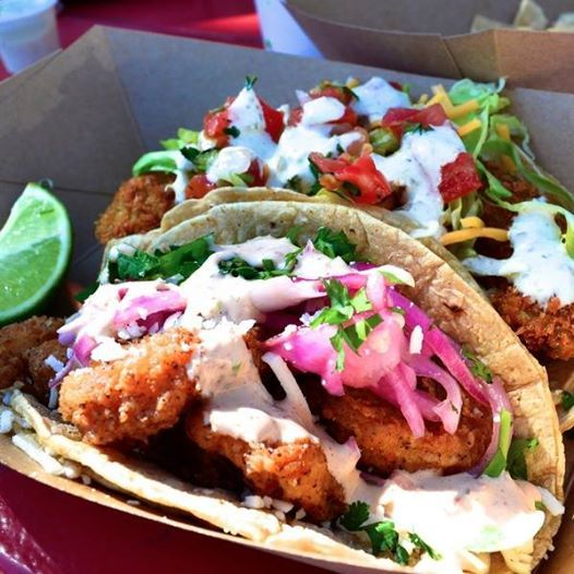 We love the the Baja Shrimp Taco from Torchy's Tacos!