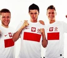 Polish sports team: #Lewandowski #Blaszczykowski #Piszczek <3