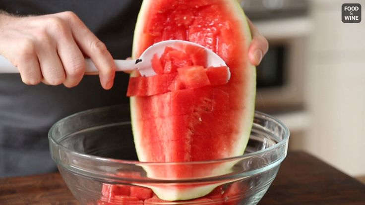 How to Cut Watermelon Into Perfect Cubes