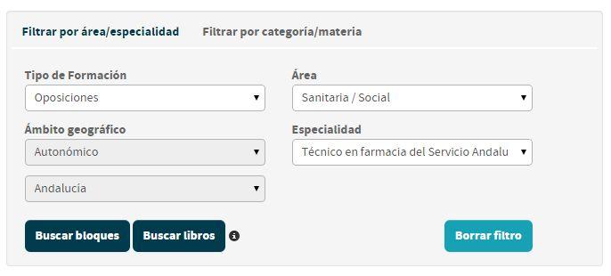 Preguntas de examen de oposición a Técnico/a de farmacia del Servicio Andaluz de Salud 2015