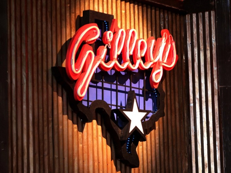 Gilley's ~~ frequented this joint a few times when we lived in Houston! (Although it was actually located in Pasadena, TX!)