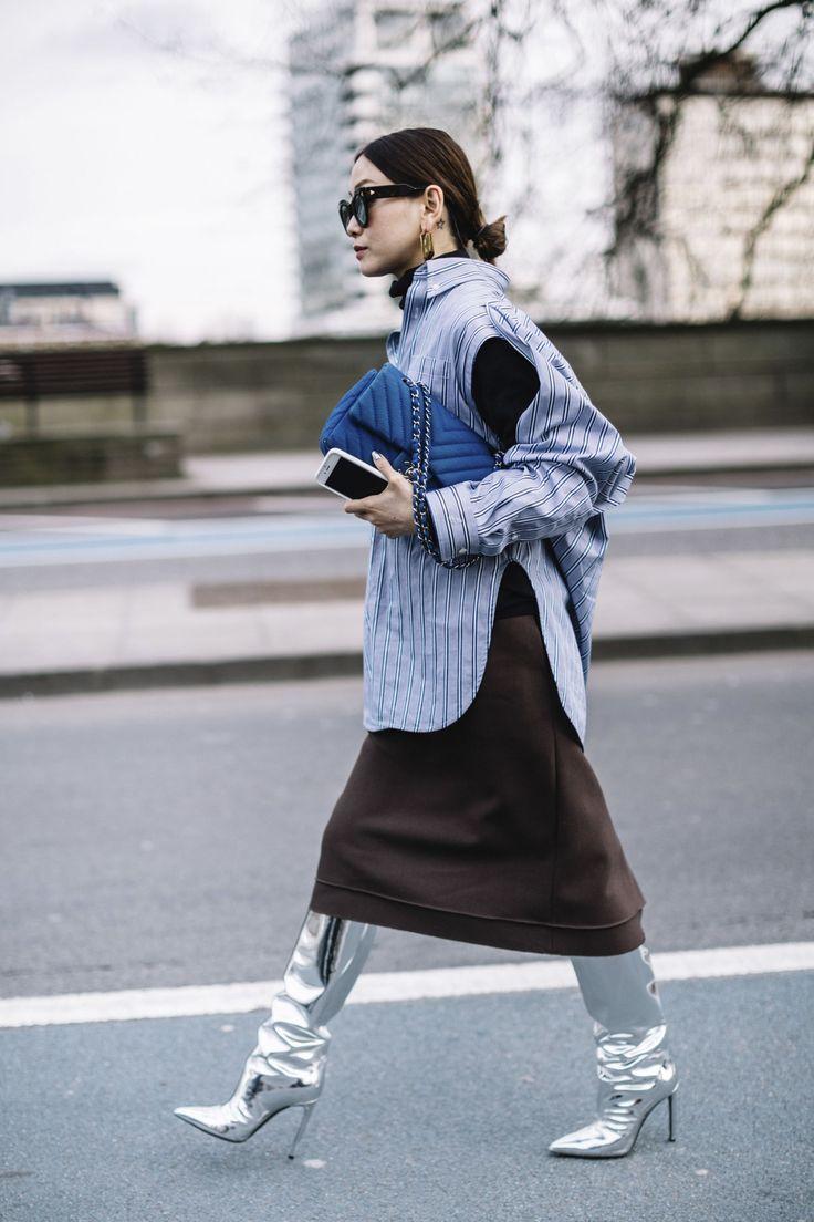 Streetstyle @ Londen Fashion Week a/w 2017