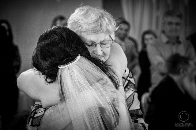 Bride hugging Grandma after wedding @Sublime Point   Candid Wedding Photography   Taryn Ruig Photography   Weddings, Portraits and Lifestyle Photography   Sydney, Australia   www.tarynruig.com